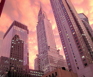 amazing, buildings, and sunset image