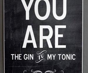 love, gin, and tonic image