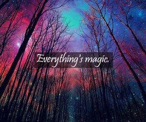 magic, sky, and stars image