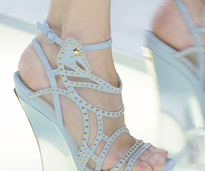 fashion, shoes, and Versace image