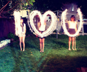 love, I Love You, and light image
