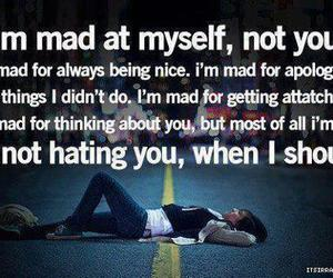 quote, mad, and hate image