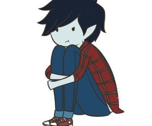 adventure time, marshall lee, and vampire image