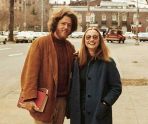 bill clinton, couple, and famous image