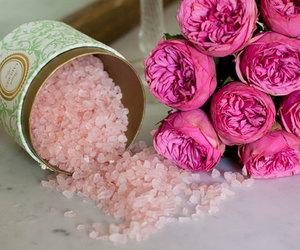 flowers, laduree, and pink image