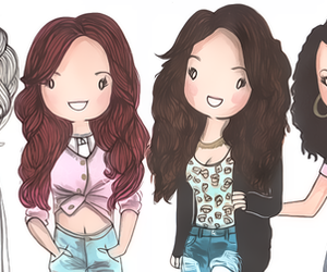 little mix and drawing image