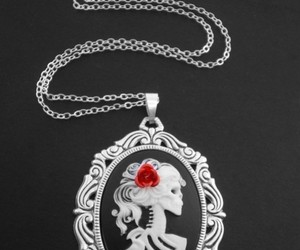gothic, cameo, and death image