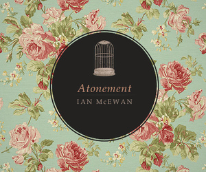 atonement, cover, and floral image