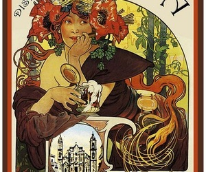 cuba, mucha, and poster image