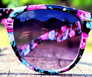 sunglasses, summer, and sun image