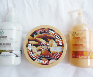the body shop, body butter, and beauty image