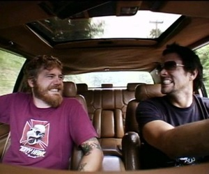 Johnny Knoxville, ryan dunn, and viva la bam image
