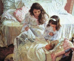 art, beautiful, and kids image
