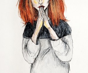 art, painting, and hayley image