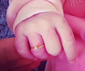 babys, mom, and ring image