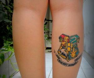 tattoo, hogwarts, and hp image