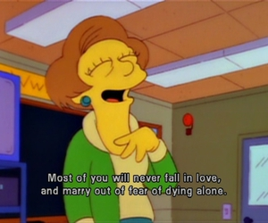 love, the simpsons, and quote image