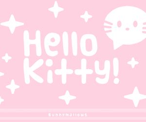 hello kitty, kawaii, and pink image