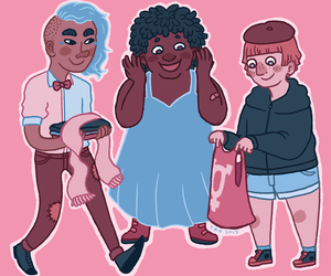 clothing, swap, and trans image
