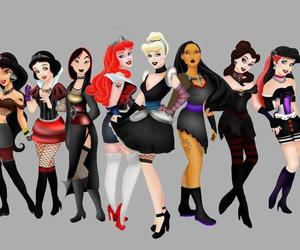 princess, disney, and punk image