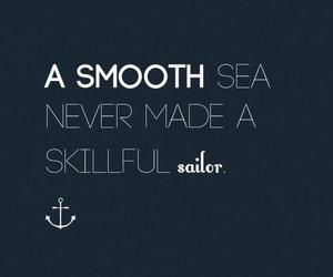 quote, smooth, and sailor image