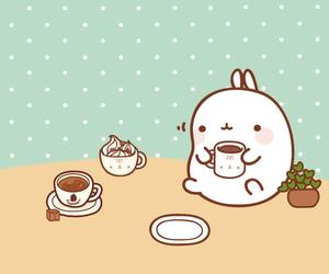 cute, kawaii, and molang image