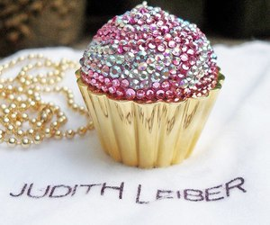 cupcake, pink, and judith leiber image