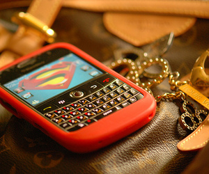 superman, blackberry, and phone image
