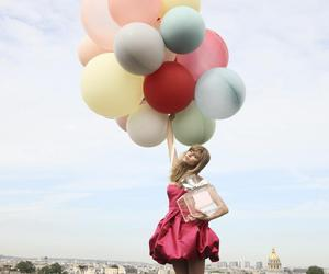 balloons, dior, and dress image