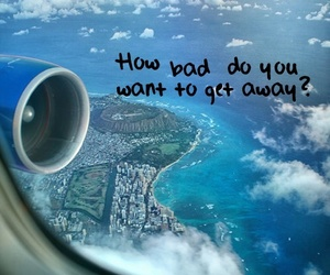 quote, plane, and sky image