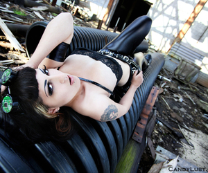 abandonment, beauty, and steampunk image