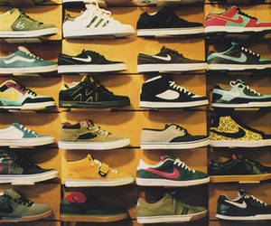 shoes, nike, and photography image