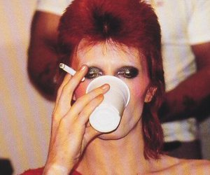 david bowie and fucking pretty image