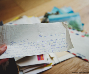 air mail, handwriting, and Letter image