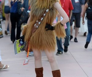 chewbacca, chewie, and girl image