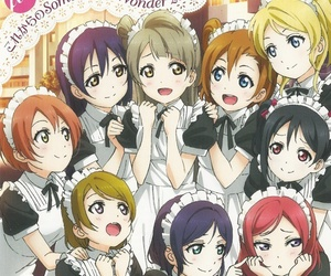 anime, school idol project, and love live! image