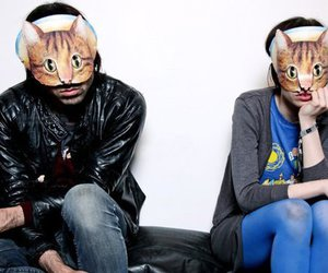 Crystal Castles, Alice Glass, and cats image