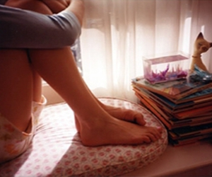 books, the virgin suicides, and feet image