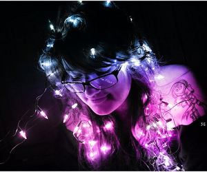 brightness, color, and fairy lights image
