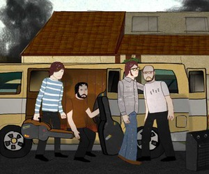 band, cartoon, and dcfc image