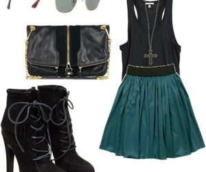 goth, gothic, and outfit image
