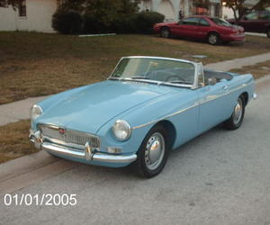 classic cars and mgb image