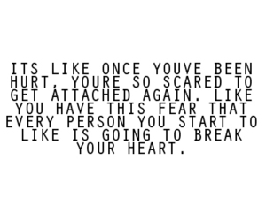 quote, hurt, and heart image