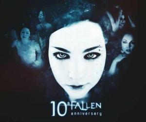 evanescence, fallen, and amy lee image