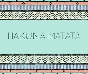 hakuna matata and quote image