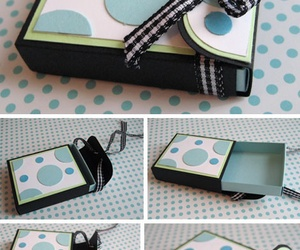 gift wrapping, hand made, and cute image