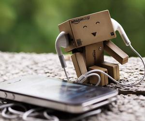 music, danbo, and happy image