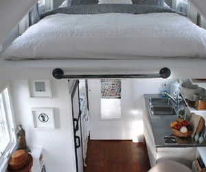appartement, bed, and decoration image