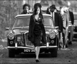 Amy Winehouse and back to black image