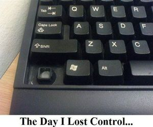 funny, control, and keyboard image